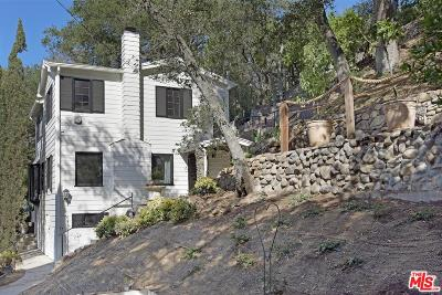 Topanga Single Family Home Active Under Contract: 416 Short Trail Lane