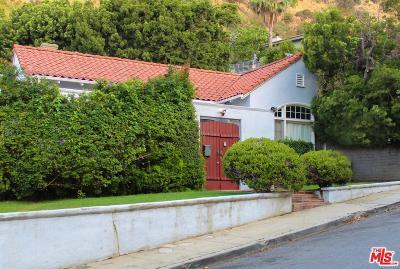 Los Angeles County Single Family Home For Sale: 1859 North Curson Avenue