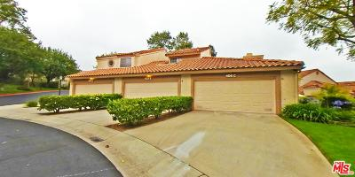 Simi Valley Condo/Townhouse For Sale: 406 Country Club Drive #C