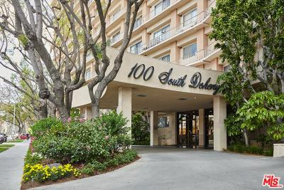 Los Angeles Condo/Townhouse For Sale: 100 South Doheny Drive #208