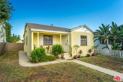 Venice Single Family Home For Sale: 839 Sunset Avenue