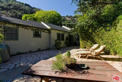 Los Angeles County Single Family Home For Sale: 2001 Nichols Canyon Road