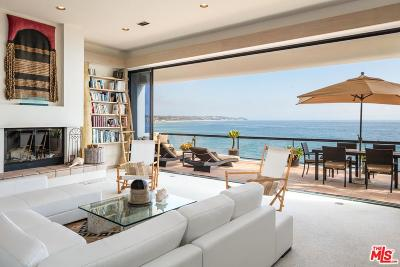 Malibu CA Single Family Home For Sale: $8,295,000