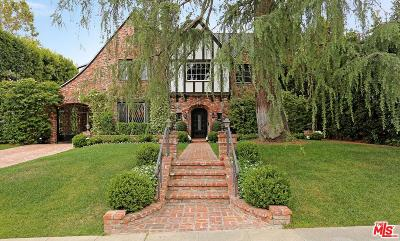 Beverly Hills Single Family Home For Sale: 617 North Palm Drive