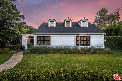 Toluca Lake Single Family Home For Sale: 10542 Bloomfield Street