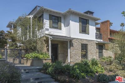Santa Monica Condo/Townhouse For Sale: 939 20th Street #1