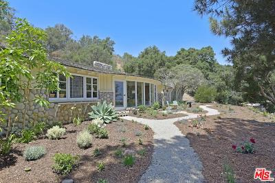 Los Angeles County Single Family Home For Sale: 6181 Ramirez Canyon Road