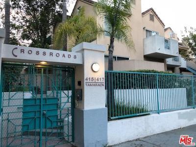 Inglewood Condo/Townhouse For Sale: 415 East Tamarack Avenue #4