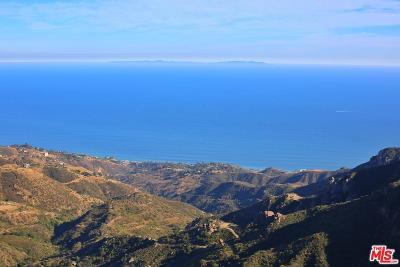 Malibu Residential Lots & Land For Sale: Piuma Road