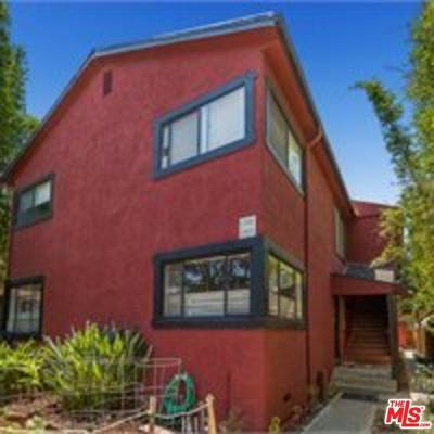 Los Angeles County Residential Income For Sale: 705 Palms