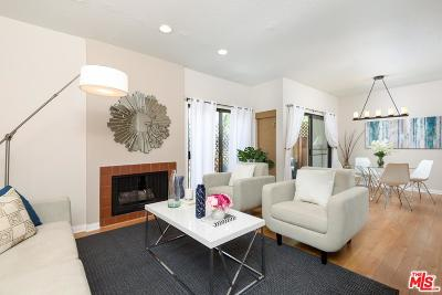 Los Angeles County Condo/Townhouse For Sale: 1655 Greenfield Avenue #14