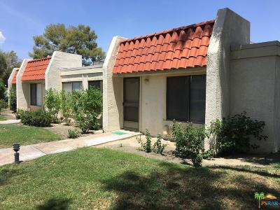 Rancho Mirage Condo/Townhouse For Sale: Del Valle Court