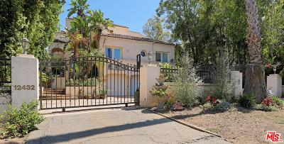 Single Family Home For Sale: 12432 West Sunset Boulevard