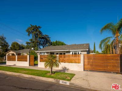 Valley Village Single Family Home For Sale: 5346 Bellaire Avenue