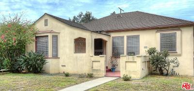Culver City Single Family Home For Sale: 4217 Le Bourget Avenue