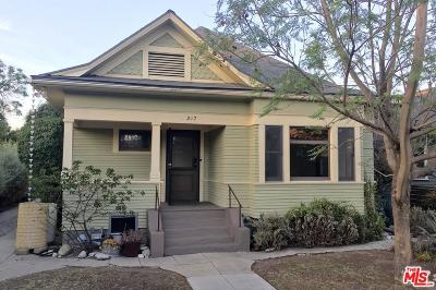 Los Angeles Single Family Home For Sale: 217 East Avenue 38