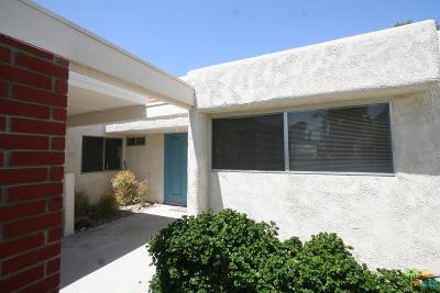 Palm Springs CA Condo/Townhouse For Sale: $185,000