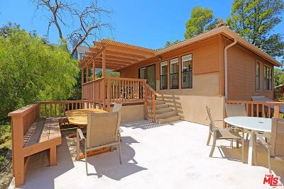 Los Angeles County Single Family Home For Sale: 1913 Corral Canyon Road