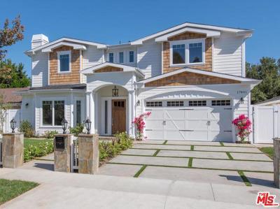 Encino Single Family Home For Sale: 17841 Palora Street