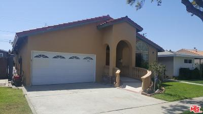 Torrance Single Family Home For Sale: 22313 Madison Street