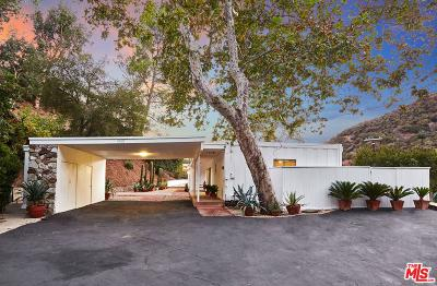Los Angeles County Single Family Home For Sale: 3560 Mandeville Canyon Road