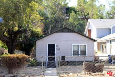 Los Angeles Single Family Home For Sale: 5829 Arroyo Drive