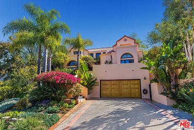 Pacific Palisades Single Family Home For Sale: 16787 Monte Hermoso Drive