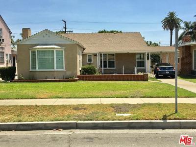 Compton Single Family Home For Sale: 412 South Sloan Avenue