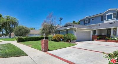 Sherman Oaks Single Family Home For Sale: 12941 Hesby Street
