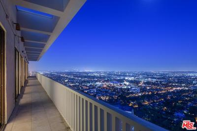 West Hollywood Condo/Townhouse For Sale: 9255 Doheny Road #PH1AND2