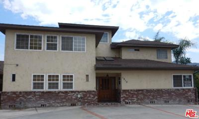 Los Angeles County Single Family Home For Sale: 1818 West Riverside Drive