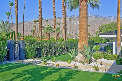 Palm Springs Single Family Home For Sale: 920 East Paseo El Mirador