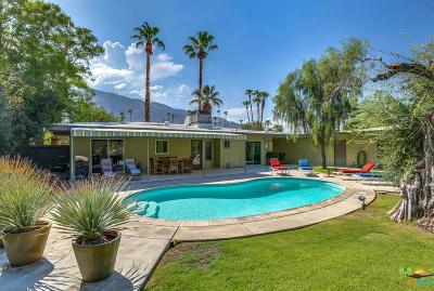 Palm Springs Single Family Home For Sale: 1140 South Calle Marcus