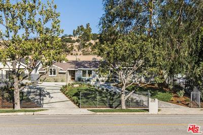 Single Family Home For Sale: 4160 Sepulveda