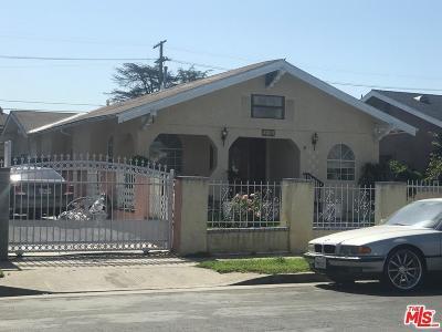 Los Angeles Single Family Home For Sale: 4024 Dalton Avenue