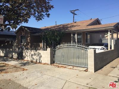 Long Beach Single Family Home For Sale: 1829 Oregon Avenue