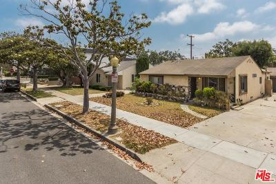 Culver City Single Family Home For Sale: 10816 Barman Avenue
