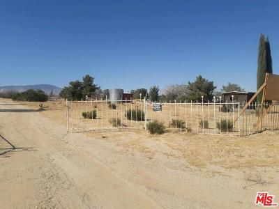Rosamond Single Family Home For Sale: 230 Gaskell Rd