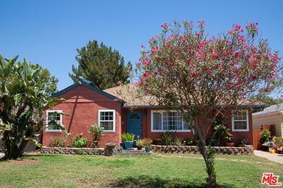 Burbank Single Family Home For Sale: 1734 North California Street
