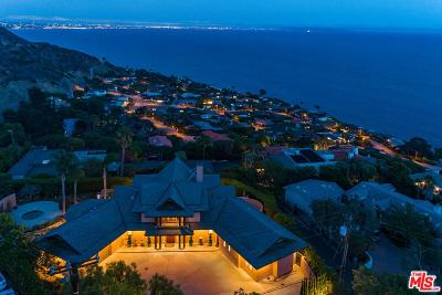 Malibu CA Single Family Home For Sale: $4,590,000