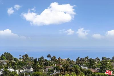 Pacific Palisades Single Family Home For Sale: 16650 Linda Terrace