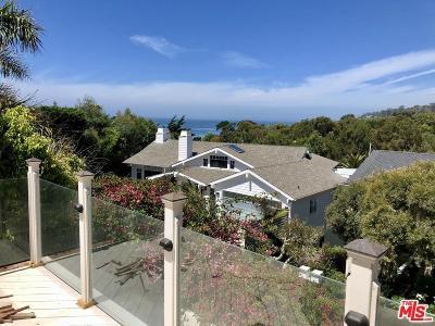 Malibu Single Family Home For Sale: 31834 Broad Beach Road