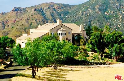 Malibu Single Family Home For Sale: 10827 Pacific View