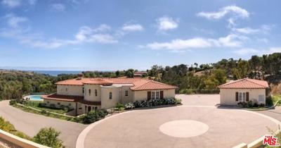 Malibu Single Family Home For Sale: 5795 Calpine Drive