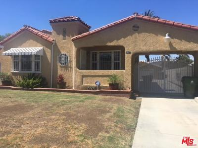 Los Angeles Single Family Home For Sale: 2907 West 74th Street