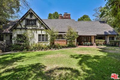 Los Angeles Single Family Home For Sale: 2815 Nichols Canyon Road