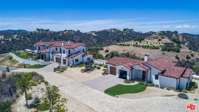 Topanga Single Family Home For Sale: 1650 Luse Tank Road
