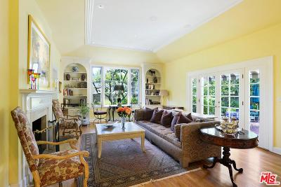 Los Angeles Single Family Home For Sale: 319 North Bundy Drive