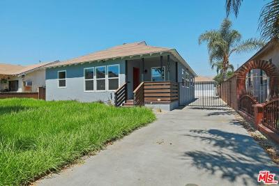 San Fernando Single Family Home Active Under Contract: 1001 5th Street