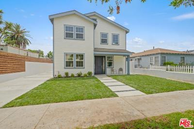 Culver City Single Family Home For Sale: 4175 Higuera Street
